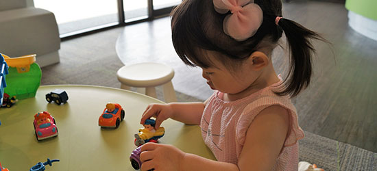 Pediatric Patient Playing